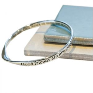 Lovethelinks Angels Silver Bangle