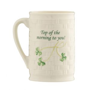 Belleek Top of the Morning to You Mug