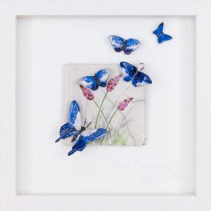 Rebeka Kahn 'New Beginnings' 26cm x 26cm