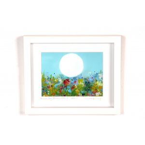 Vera Gaffney 'Bog Blooms Moon' Frame 8 x 10