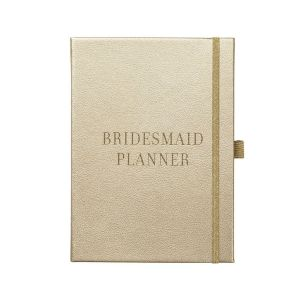 Busy B Gold Bridesmaid Planner Cover