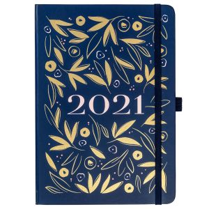 Busy B Navy A5 To Do Diary 2021
