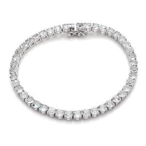Cabochon & Co Silver Tennis Bracelet