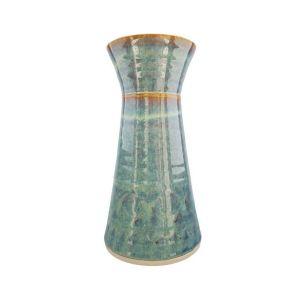 Castle Arch Pottery Oilean Green Vase