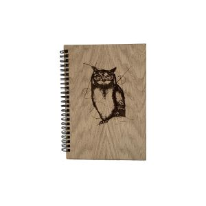 Caulfield Country Boards Owl Notepad