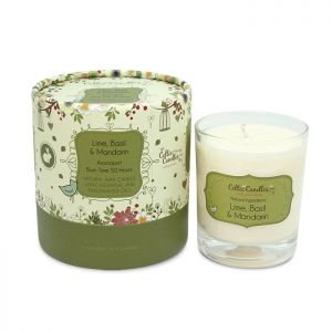 Celtic Candles Lime Basil & Mandarin Tumbler