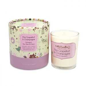 Celtic Candles Pink Grapefruit & Champagne Aromapot Tumbler