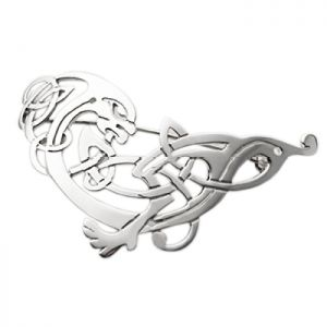 Declan Killen Celtic Hound Brooch