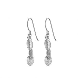 Chupi Leaves In The Forest Silver Earrings