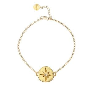 Chupi Your North Star Gold Bracelet