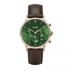 Cluse Aravis Chrono Green Dial Watch