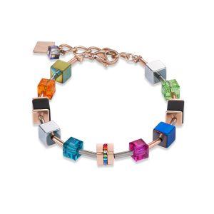 Coeur De Lion Geo Cube Multi Bracelet