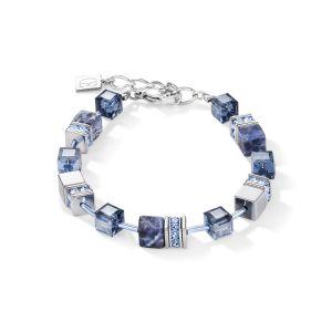 Coeur De Lion Sodalite & Haematite Blue Bracelet