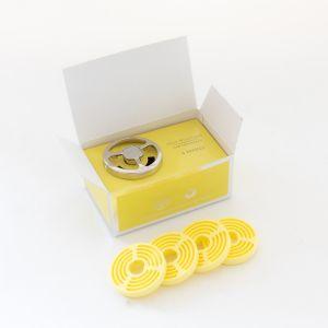 Max Benjamin Lemongrass & Ginger Car Gift Set-Dispenser & 4 Refills