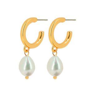 Dansk Smykkekunst Audrey Gold Earrings
