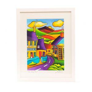 Saileen Art Do Drop Inn Frame