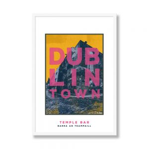 Jando Dublin Town Temple Bar Small Frame