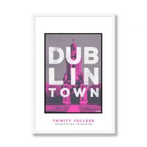 Jando Dublin Town Trinity College Large Frame