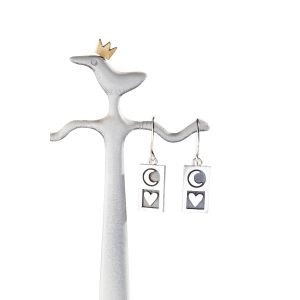 Alan Ardiff To the Moon and Back Earrings