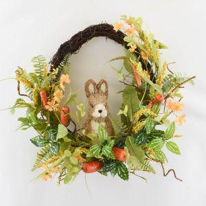Enchante Carrot & Bunny Wreath