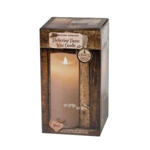 Enchante Flickering Flame Candle 18cm