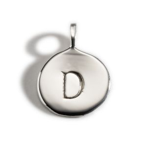 Enibas Anam Silver Initial D Charm