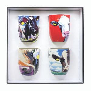 Eoin O' Connor Set of 4 Mugs