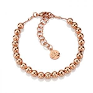 Newbridge Rose Gold Beaded Bracelet