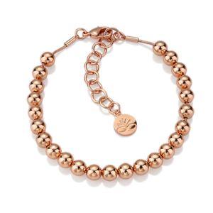 Newbridge Rose Gold Beaded Bracelet