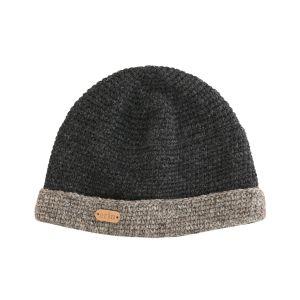 Erin Crochet Turnup Charcoal