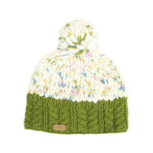 Erin Knitwear Uneven Wool Bobble Hat