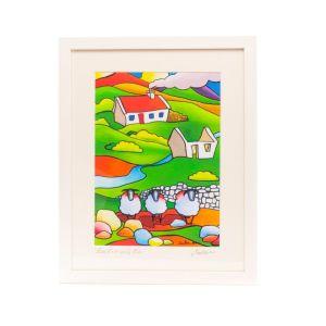Saileen Art Ewe Ewe and Ewe Small Frame