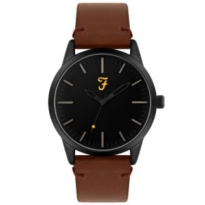Farah The Classic Cool Brown Gents Watch