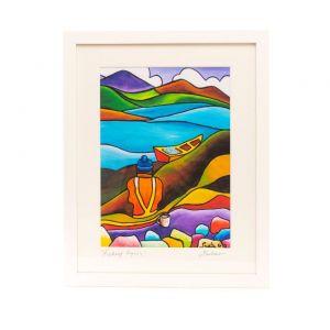 Saileen Art Fishing Lyons Large Frame