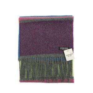 Foxford Multi Stripe Lambswool Scarf