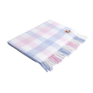 Foxford Baby Multi Check Baby Blanket