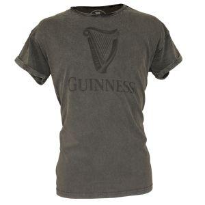 Guinness Acid Wash Harp T-Shirt