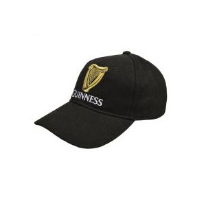 Guinness Black Baseball Cap