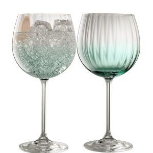 Galway Crystal Erne Aqua Gin & Tonic Pair