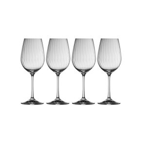 Galway Crystal Erne Set of 4 Wine Glasses
