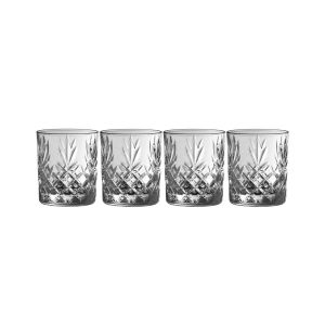 Galway Crystal Renmore Double Old Fashion Set