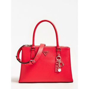 Guess Becca Red Charm Handbag