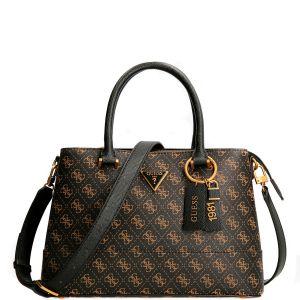 Guess Cordelia 4g Logo Black Handbag