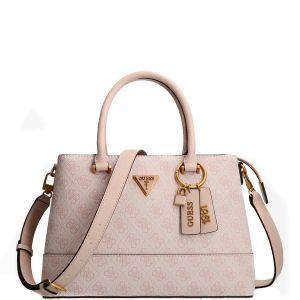 Guess Cordelia 4g Logo Pink Handbag