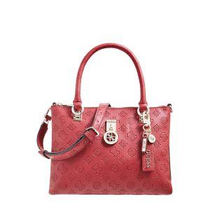 Guess Ninnette Burgundy Handbag