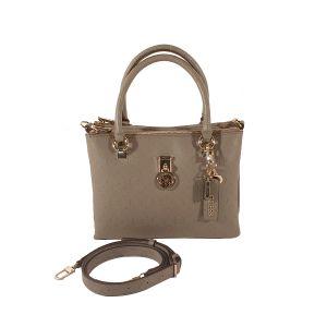 Guess Ninnette Taupe Handbag