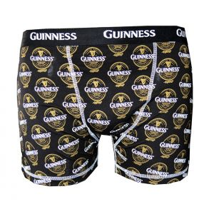 Guinness Bottle Label Boxer Shorts