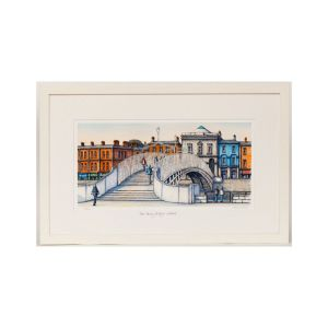 Jim Scully Ha'penny Bridge Landscape Large