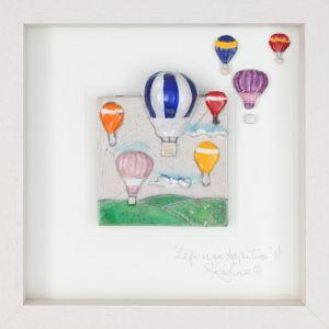 Rebeka Kahn 'Life is an Adventure' 26cm x 26cm