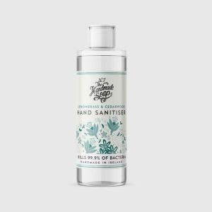 Handmade Soap Company Lemongrass & Cedarwood Hand Sanitiser 100ml